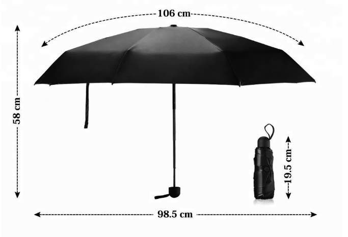 Origin Outdoors Regenschirm Nano