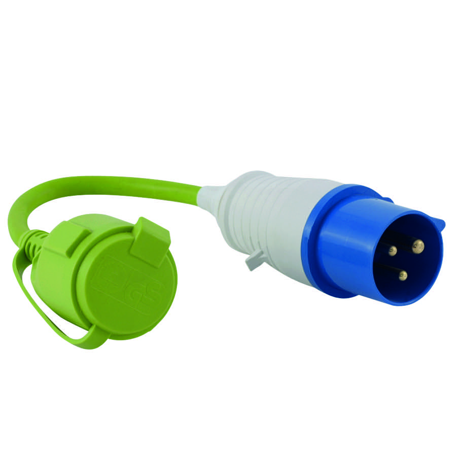 Outwell Adapter CEE Stecker - Kupplung